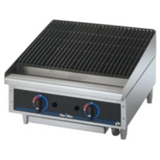 "Star® Mfg. Star-Max® Lava Rock Gas 24"" Char-Broiler"