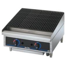 "Star® 6024CBF Star-Max® Lava Rock Gas 24"" Char-Broiler"
