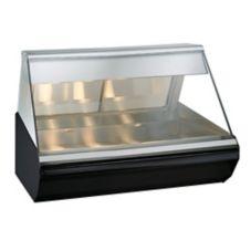 Alto-Shaam® EC2-48/P-BLK Halo Heat Countertop Heated Display Case