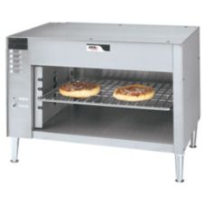"APW Wyott CMC-48 S/S 48"" Countertop Electric Cheesemelter"
