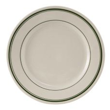 "Tuxton® TGB-031 Green Bay 6-1/4"" Eggshell Plate - 36 / CS"