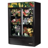 True GDM-47FC Black 47 Cu Ft Floral Case Refrigerator