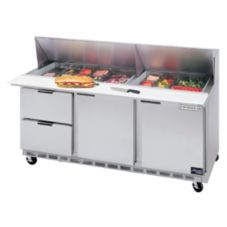Beverage-Air SPED72-18-2 Elite Refrigerated Counter w/ 18 Pan Openings