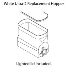 BUNN® White Ultra-2 Hopper with S/S