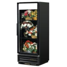 True® Glass Door Refrigerator Merchandiser w / No Sign, 12 Cu Ft