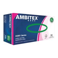 Tradex L5201-XL Ambitex® XL Powder-Free Latex Gloves - 100 / BX