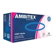 Tradex Ambitex® Large Powder-Free General Purpose Latex Gloves