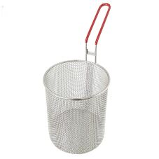 "Pronto® PBSE0815 S/S 6-1/2"" Round Pasta Cooker Basket"