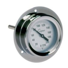 Cooper Atkins 2225-02-5 Industrial Flange Mount Stem Thermometer