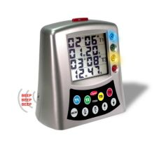 Cooper Atkins TFS4-0-8 Large Color-Coded Multi-Station Digital Timer