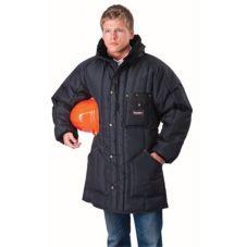 RefrigiWear® 0360R-XL Iron-Tuff™ XL Sage Ice Parka
