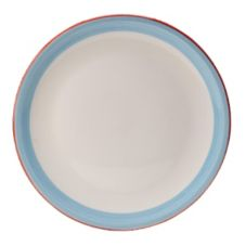 "Steelite 15310614 Simplicity Rio Blue 12.5"" Pizza Plate - 6 / CS"