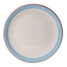 "Steelite 15310614 Simplicity Rio Blue 12.5"" Pizza Plate - 6 / CS"