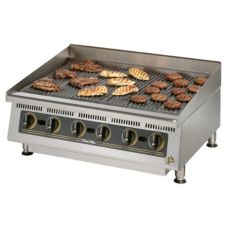 "Star® Mfg. Ultra-Max™ 36"" Radiant Gas Char-Broiler"