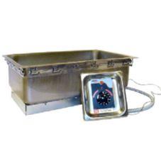 APW Wyott TM-90D UL W/ DRAIN  Electric Top Mount Hot Food Well