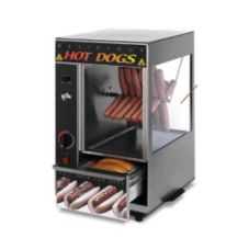 Star® 174SBA Spike Broil-O-Dog with 12-Bun Warmer Compartment