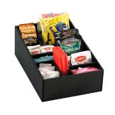Dispense-Rite Black Countertop Multi-Purpose Organizer