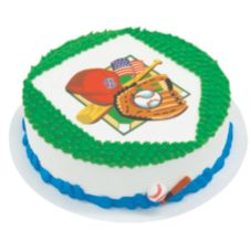 Lucks™ Edible Image® Baseball Fan