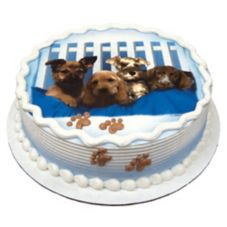 Lucks™ 41186 Edible Image® Puppies - 12 / BX