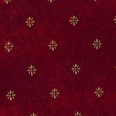 "Marko® Fashion™ 46""x46"" Maroon Aster Tablecloth"