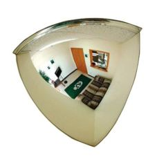 "Campus Crafts 16"" Corner Security Mirror"