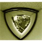 Campus Crafts QDO-26 Indoor Usage Domed Corner Security Mirror