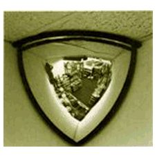 Campus Craft Indoor Usage Domed Corner Security Mirror