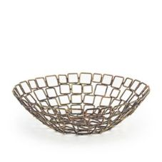 "Front Of The House® BBK011GOI22 10"" Copper Linked Basket"
