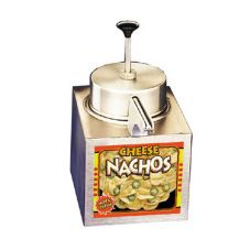 APW Wyott LCCW Lighted Nacho Cheese Warmer with Pump
