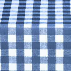 Marko® Classic™ Series Blue Gavin Check Tablecloth
