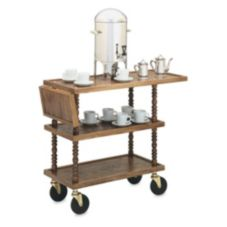 Vollrath® 97036 L'Elegance Wooden Captain's Cart