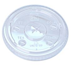Lid for 9, 12 and 20 oz Clear PET Fabrikal Tumblers