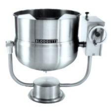Blodgett 60 Gal Direct Steam Pedestal Kettle w/ Manual Tilt Mechanism