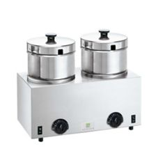 Server Products 81200/FS*4 Twin Food With 4 Qt. Insets