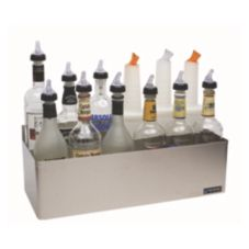 San Jamar® B5522D 10-Bottle S/S Speed Rack