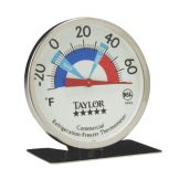 Taylor 5996N 5* Commercial Refrigerator / Freezer Dial Thermometer