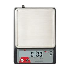Taylor Precision TE10FT Compact Digital 11 Lb. Portion Control Scale