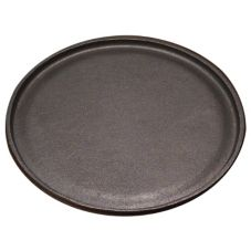 "Tomlinson 1016270 9-1/4"" Round Cast Iron Griddle without Handle"