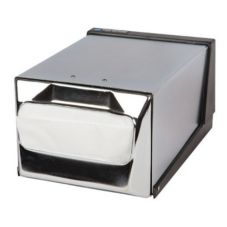 San Jamar® H3001XC Chrome Full Fold Countertop Napkin Dispenser