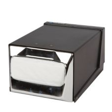 San Jamar® H3001BKC Full Fold Countertop Napkin Dispenser