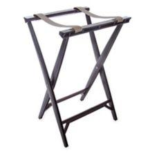 "Carlisle® C3630W11 30-1/2"" Walnut Plastic Tray Stand"