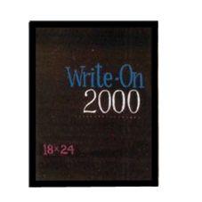 "International Patterns WO-2000-18-E 24"" Ebony Write-On 2000 Board"