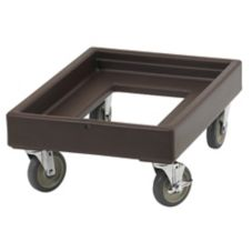Cambro CD100131 Dark Brown Camdolly without Handles for Camcarriers