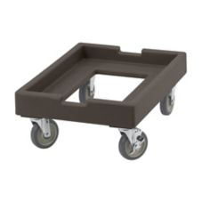 Cambro CD1826PDB131 Camdollies® Dark Brown Dolly for Dough Box