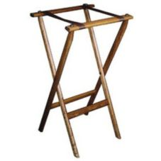 "Old Dominion Wood 38"" High Tall Tray Stand"