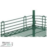 "Metro® Super Erecta® 4 x 42"" Shelf Ledge w/ Metroseal 3"