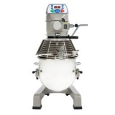 Globe Food SP20 3-Speed 20 Qt Planetary Mixer with Ingredient Chute