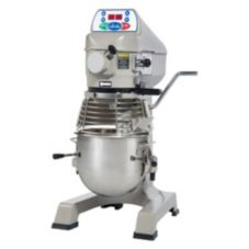 Globe Food 3-Speed 10 Qt Planetary Mixer w/ Built-in Ingredient Chute