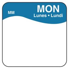 "DayMark 1100341 MoveMark Trilingual 1"" Monday Day Square - 1000 / RL"