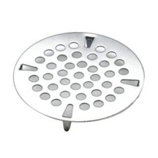 "T & S Brass 010386-45 3-1/2"" Snap-In Flat Strainer"